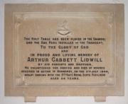A. G. Lidwill Memorial