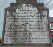 Cogan and McDonnell Memorial