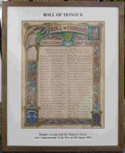 Milltown Golf Club Roll of Honour