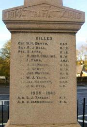 Glenavy War Memorial