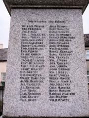 Donaghcloney War Memorial