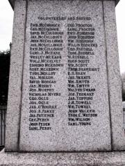 Donaghcloney War Memorial