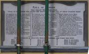 New Ross Great War Roll of Honour