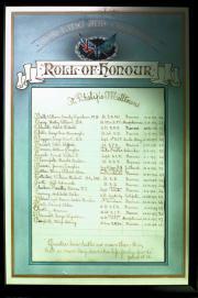 Great War Roll of Honour