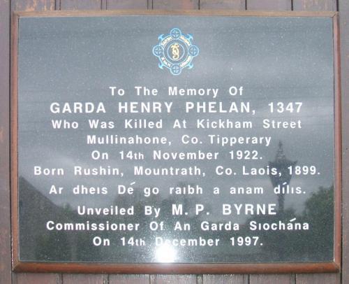 Mullinahone Garda Station