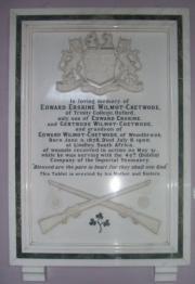 Wilmot-Chetwode Memorial