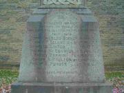 Cross in churchyard