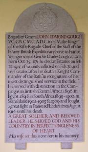 Gough Memorial