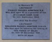 Armitage Memorial