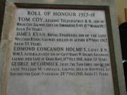 Great War Memorial Cross