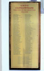 Clongowes Great War Memorial
