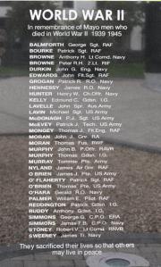 Mayo Memorial World War II