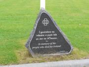 Memorial to those who died for Ireland
