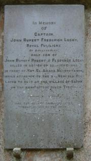 Lecky Memorial