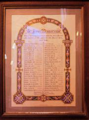 St. John's Roll of Honour