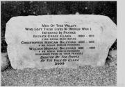 Clara World War I Memorial