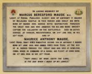 Maude Memorial