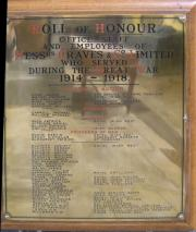 Graves and Co. Roll of Honour