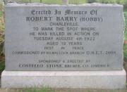 Robert Barry Memorial