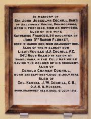 Coghill Memorial