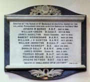 St. Barnabas's Church Great War Memorial