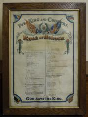 St. Barnabas's Church Great War Roll of Honour