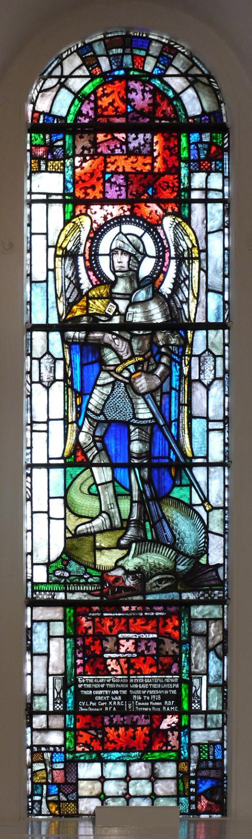 St. Pappan's Church Great War Memorial Window