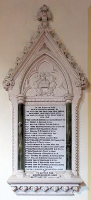 St. Patrick's Church Great War Memorial