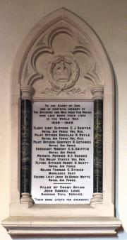 St. Patrick's Church World War II Memorial