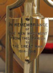 St. Canice's Church Great War Memorial