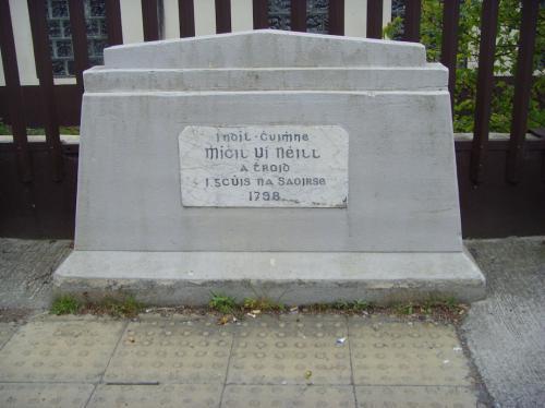Newtownmountkennedy, Míchil Uí Néill Memorial
