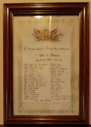 St. Matthew's Great War Roll of Honour