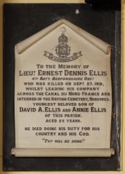Ellis Memorial
