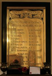 St. Paul's Great War Roll of Honour