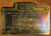 All Saints Church Great War Memorial 1