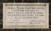 St. Mark's Memorial Tower