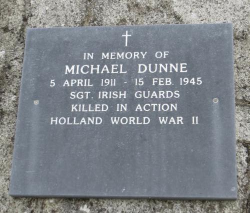 Michael Dunne Memorial