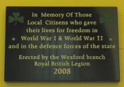 Wexford War Memorial