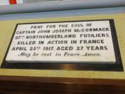 McCormack Memorial