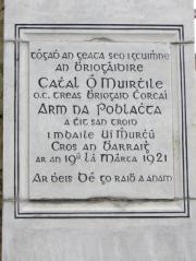 Cathal Hurley Memorial