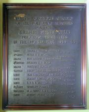 Kildare Street Club World War II Memorial