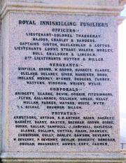 Enniskillen Boer War Memorial