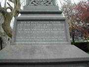 Donnybrook St.Mary's War Memorial Cross