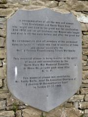 Ennistymon Great War Memorial