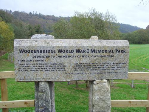 Woodenbridge WW I Memorial Park
