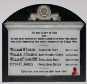 Sandymount Methodist Great War Memorial