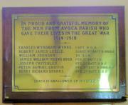 Avoca Great War Memorial