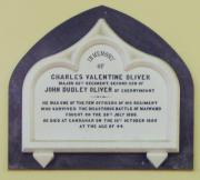 Charles Oliver Memorial