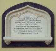 Edward Oliver Memorial