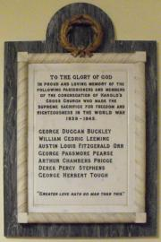 Harold's Cross WW II Memorial